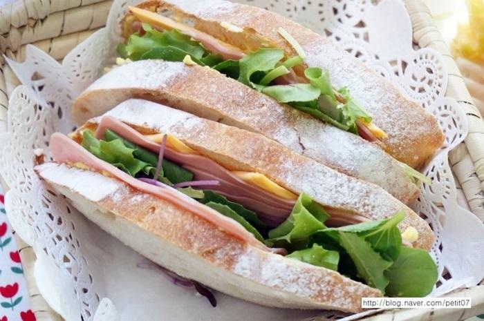 샌드위치만들기1