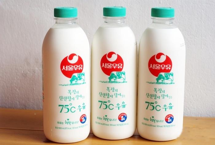 75도 우유