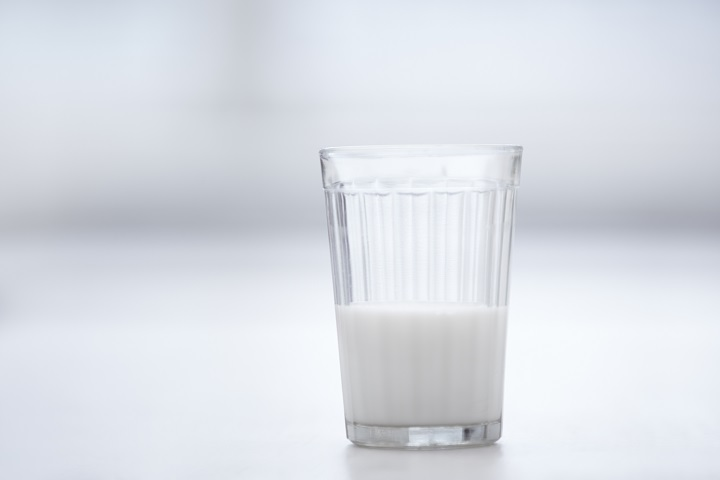 Glassful of milk